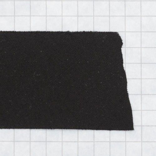 Bias tape 100% cotton 1 1/2 inch (38mm) black