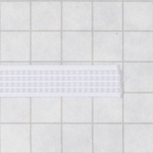 Woven boning like Rigelene 6mm wide (1/4 inch), white