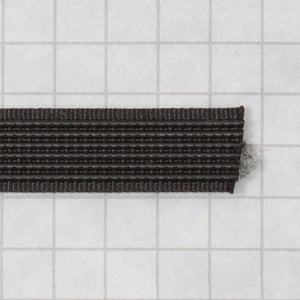 Woven boning like Rigelene 10mm wide (3/8inch), Black