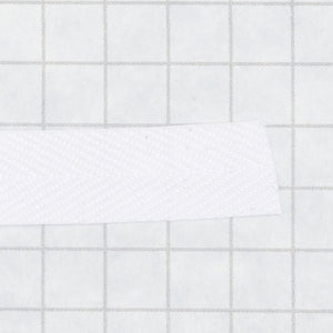 Prussian Tape, nylon, 3/8 in (9.5mm) white