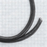 Tubular Crin 1/2 inch diameter-Black or White