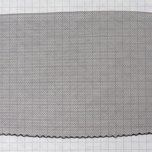 Flat Crin 4 inch wide-Black or White