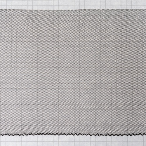 Flat Crin 6 inch wide-Black or White