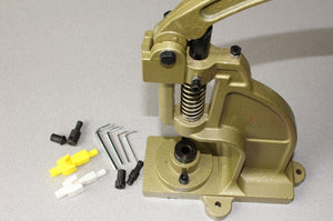 Hand Press to Set Grommet and Eyelets and Tip Bones