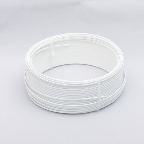 Hoop wire 2.5mm (1/8 inch)  wide X 1.4 mm thick/20 meter coils