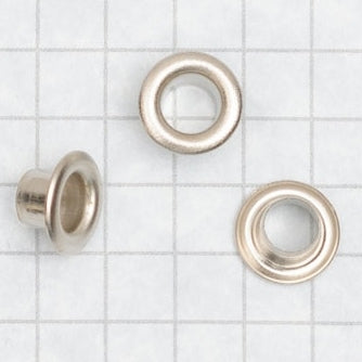 Eyelets NICKEL PLATED, size 00