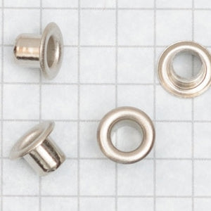 Eyelets with LONGER SHANK size 00 NICKEL PLATED