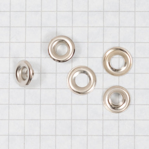 Grommet & washer nickel plated size 00 (gross)