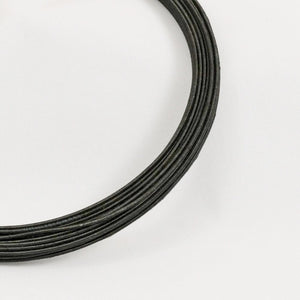 hat wire/millinery wire 16 gauge black 30yd coil