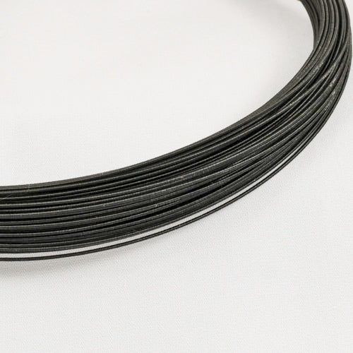 hat wire/millinery wire 21 gauge black 60yd coil