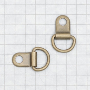 D-Ring Antique Brass