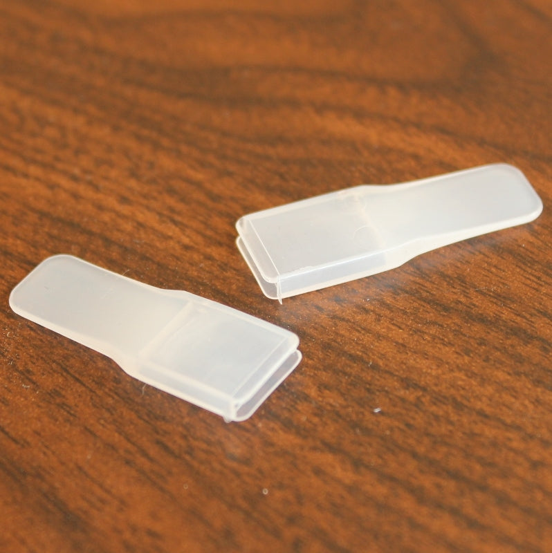 hoop steel ends, plastic for 11mm wide