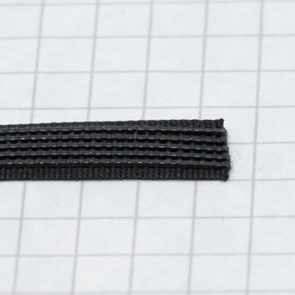 Woven boning like Rigelene 8mm wide (5/16 inch) Black