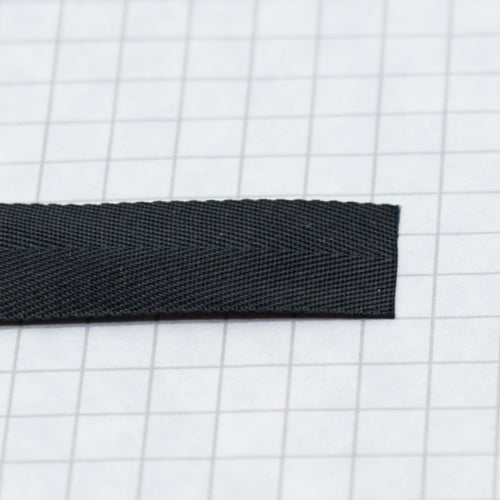Prussian Tape, nylon, 5/8 in (15.8mm) black
