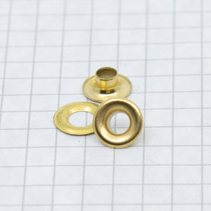 Grommets 00 Brass (includes washers)