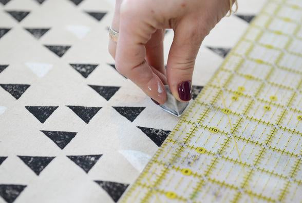 BLOCK PRINTING WITH CHARIS BIRCHALL