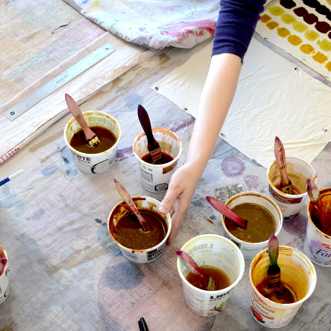 DAY: PRINTING WITH NATURAL DYES | 13 APR