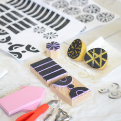 AFTERNOON: SURFACE DESIGN THROUGH BLOCK-PRINTING | 28 MAR