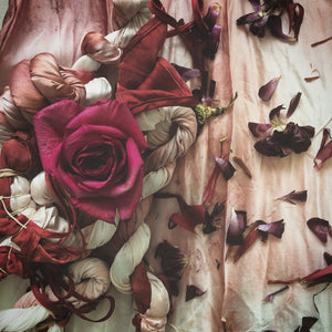DAY:  FLORAL BUNDLE DYEING | 27 OCT