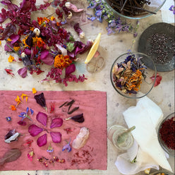 DAY:  FLORAL BUNDLE DYEING | 31 MAY