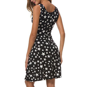 GENEVA star bodycon dress