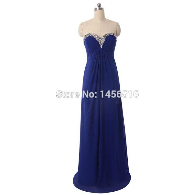 New Arrival Custom Made Royal blue Bridesmaid Dress