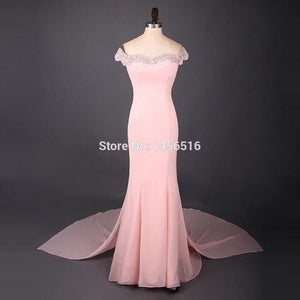 Simple Long Formal Prom Dress
