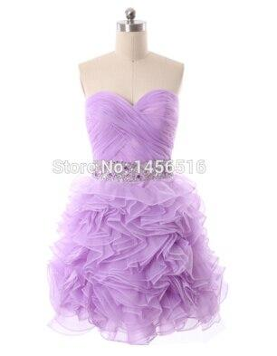 Above Knee Homecoming Dress