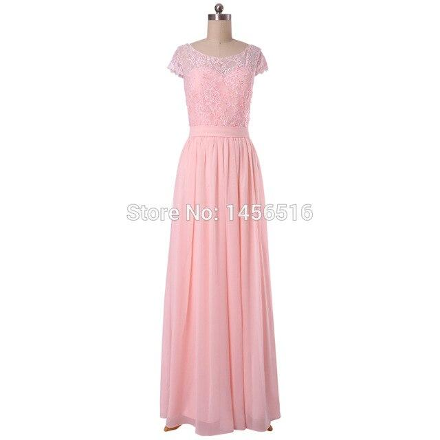 New Arrival Custom Made Pink Bridesmaid Dress