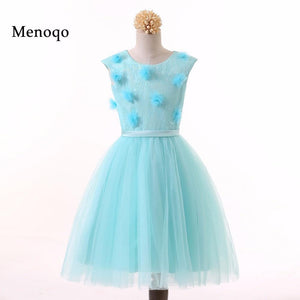 Menoqo Pretty Baby Children Flower Girl Dress