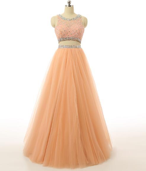 Luxury Two Piece Prom Dress