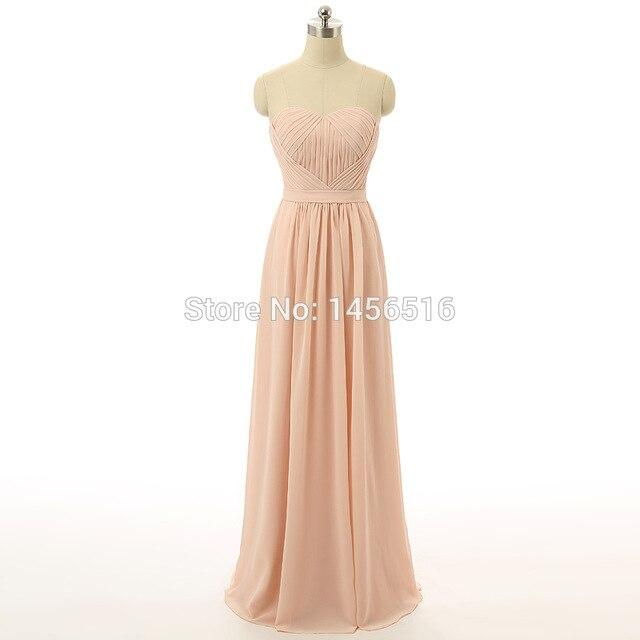 Simple Maid Of Honor Bridesmaid Dress