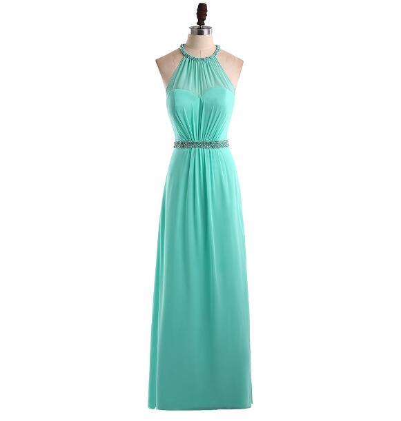 Menoqo Robe Demoiselle D'honneur A Line Bridesmaid Dress