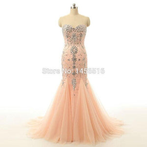 Real Model Evening Dress High Quality