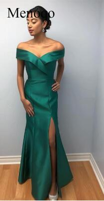 Simple Mermaid Evening Dress