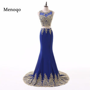 Fashionable 2 Pieces Prom Dress