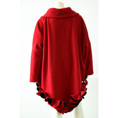 Boris Circle Poncho with Sleeves-All Colors