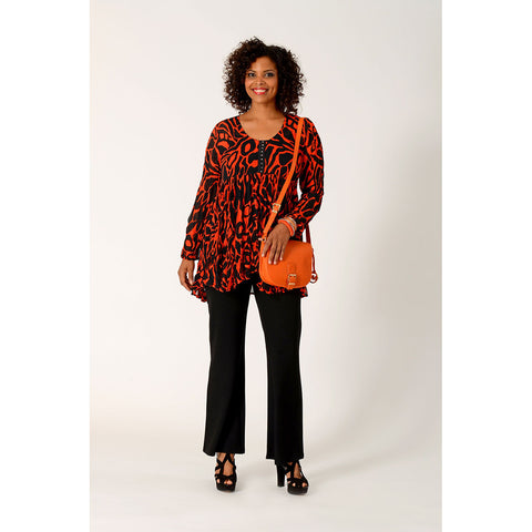 Yoek Tunic Wide Hook/Eye Splash