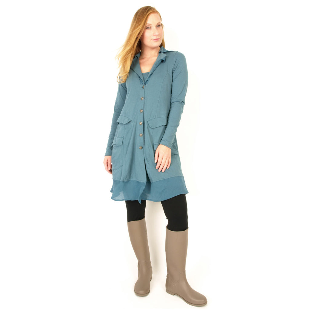 Rimini  Organic Cotton Long Jacket