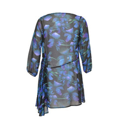 Yoek Tunic with Smocked Waist Orchid