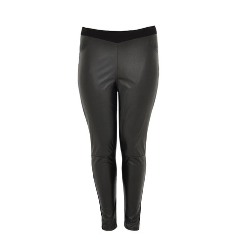 Yoek Legging 1/2 Faux Leather