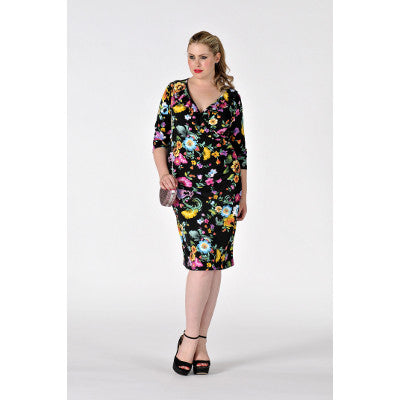 Yoek Wrap Dress ROSIE