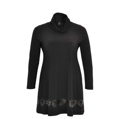 Yoek Shirt with Leather Lace