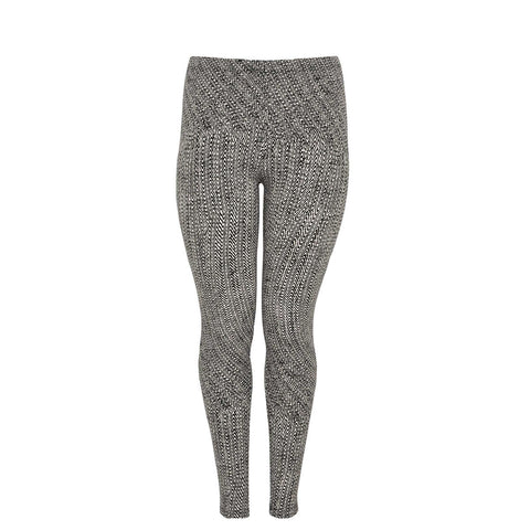 Yoek Legging Long Herringbone