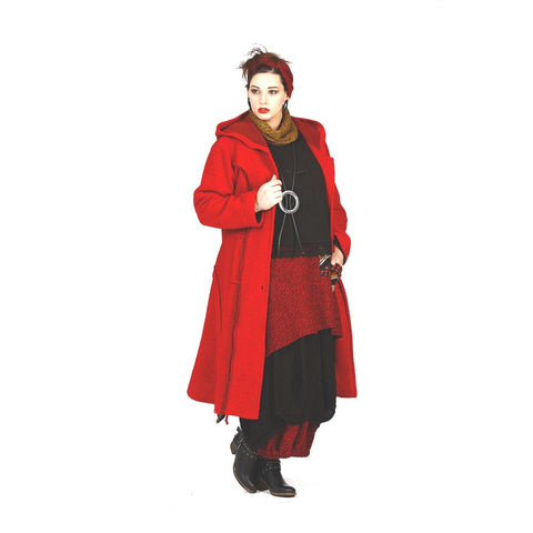 Sarah Santos Coat with Hood - All colors