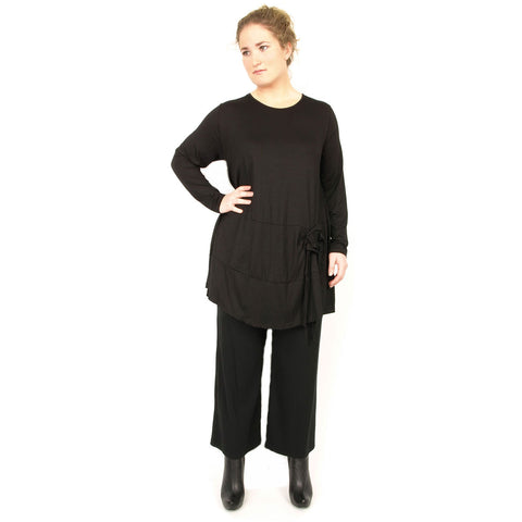 Sorbetto al Limone  Tunic with Flower Detail- All Colors