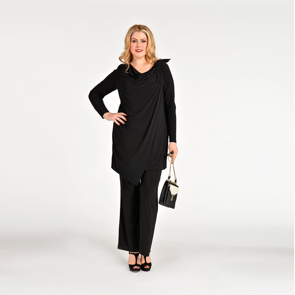 Yoek Black Label Tunic Long Wrap Dolce