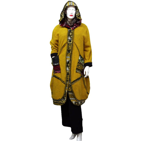 Sarah Santos Balloon Coat with Hood