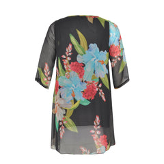 Yoek Black Label Blouse Strass Blooms