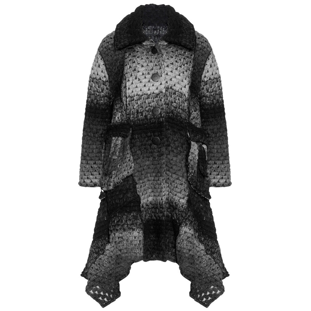 Vincenzo Allocca Wool Knitted Coat